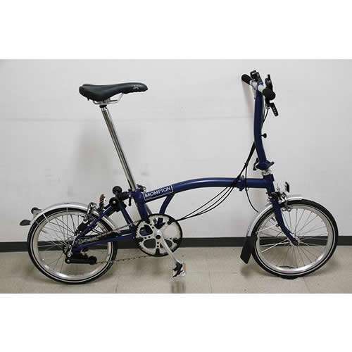 BROMPTON|ブロンプトン|S6L 2013年モデル|買取価格 120,000円 | ロードバイクの買取 Valley Works