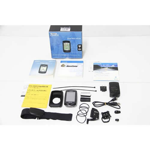GARMIN(ガーミン)|Edge 800J WHITE GPSサイコン|内箱欠品|買取金額 20,000円