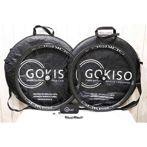 GOKISO(ゴキソ)|GD2ワイドリム カーボンホイールセット|難あり|買取金額 125,000円