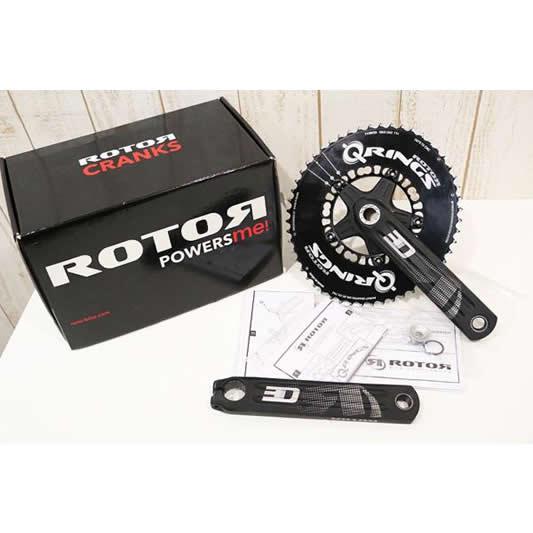 ROTOR(ローター)|3D24クランクセット QRINGエアロ付き|超美品|買取金額 26,000円