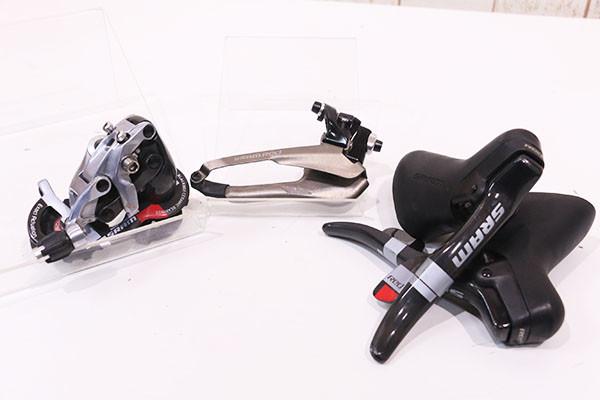 SRAM(スラム)|RED DoubleTap 2x10s グループセット|良品|買取金額 31,000円