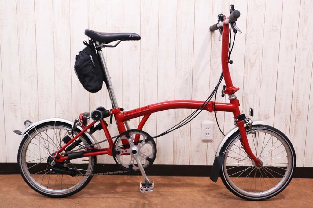 BROMPTON(ブロンプトン)|S6L RED|美品|買取金額 100,000円