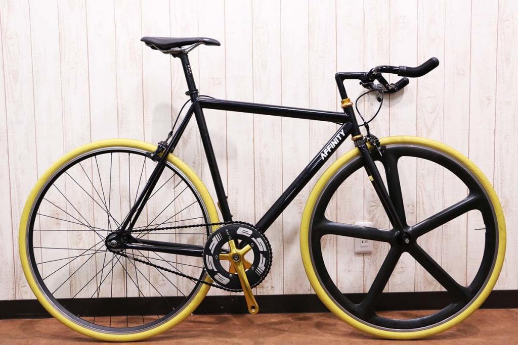 AFFINITY CYCLES(アフィニティ)|LO PRO AEROSPOKEカスタム|美品|買取金額 110,000円