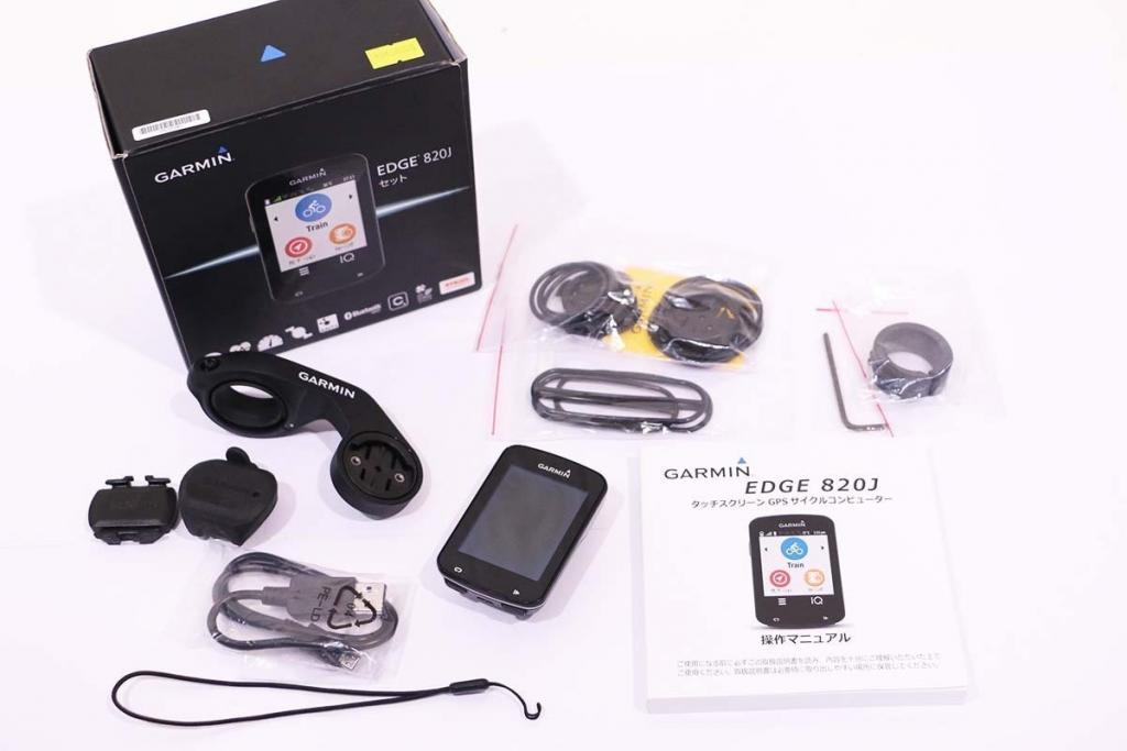 GARMIN(ガーミン)|Edge 820J set|美品|買取金額 33,000円