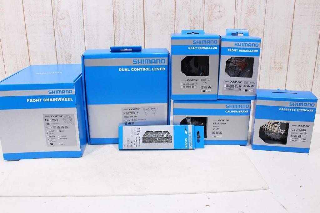 SHIMANO(シマノ)|R7000 105 グループセット|新品|買取金額 37,000円