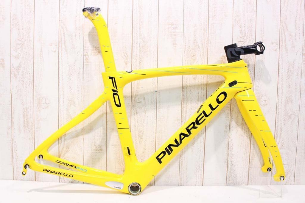 PINARELLO(ピナレロ)|DOGMA F10 28/YELLOW TDF 2017|極上品|買取金額 242,000円