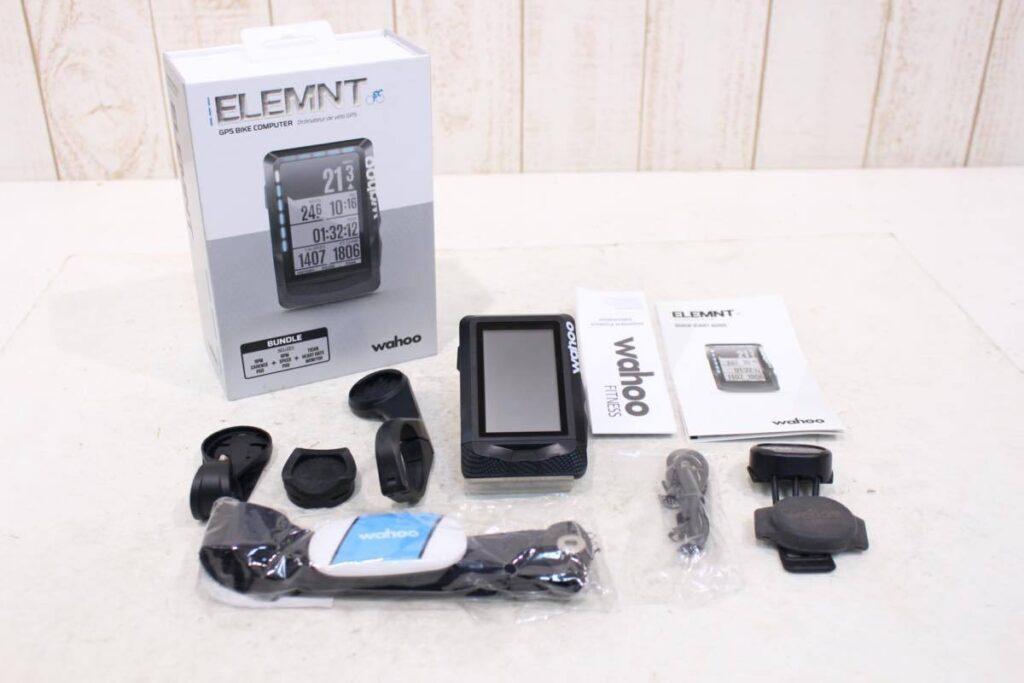 wahoo(ワフー )|ELEMNT GPSサイクルコンピューター バンドル|美品|買取金額 18,000円
