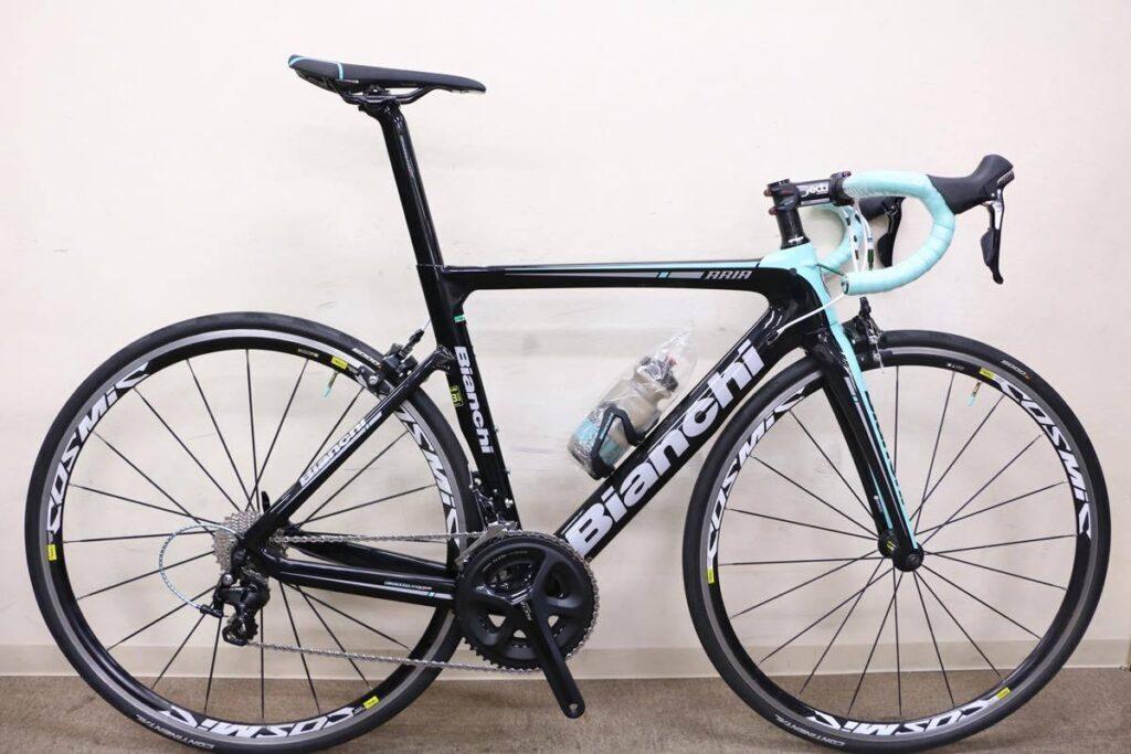 Bianchi(ビアンキ)|ARIA 5800 105 ホイールカスタム|新品並み|買取金額 155,000円