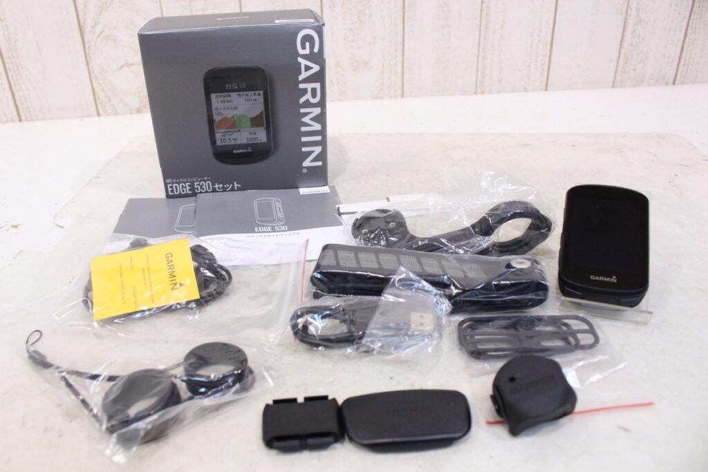 GARMIN(ガーミン)|EDGE 530 SET 日本語対応|美品|買取金額 30,000円